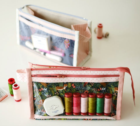 Inside-Outside Pouch by Aneela Hoey - Paper Pattern