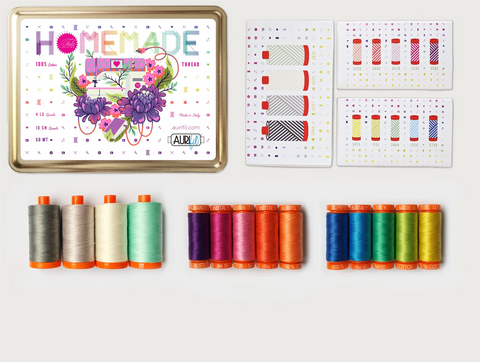 RESERVATION Tula Homemade Aurifil Thread Set