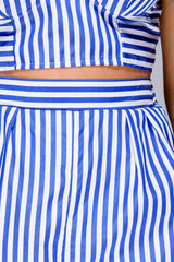 Striped Short Set