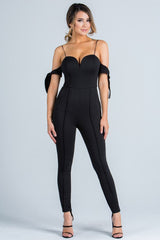 Sweetheart Tied-Up Jumpsuit