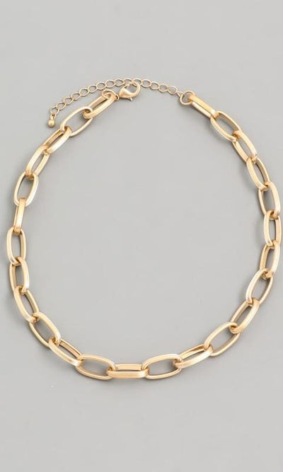Chain Link Necklace - JEWL