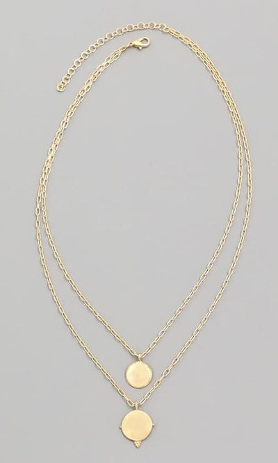 Double Dainty Necklace - JEWL