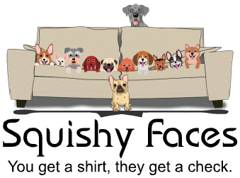 Relaunch of the Squishy Faces Pet Lover Gifts & Clothing Website