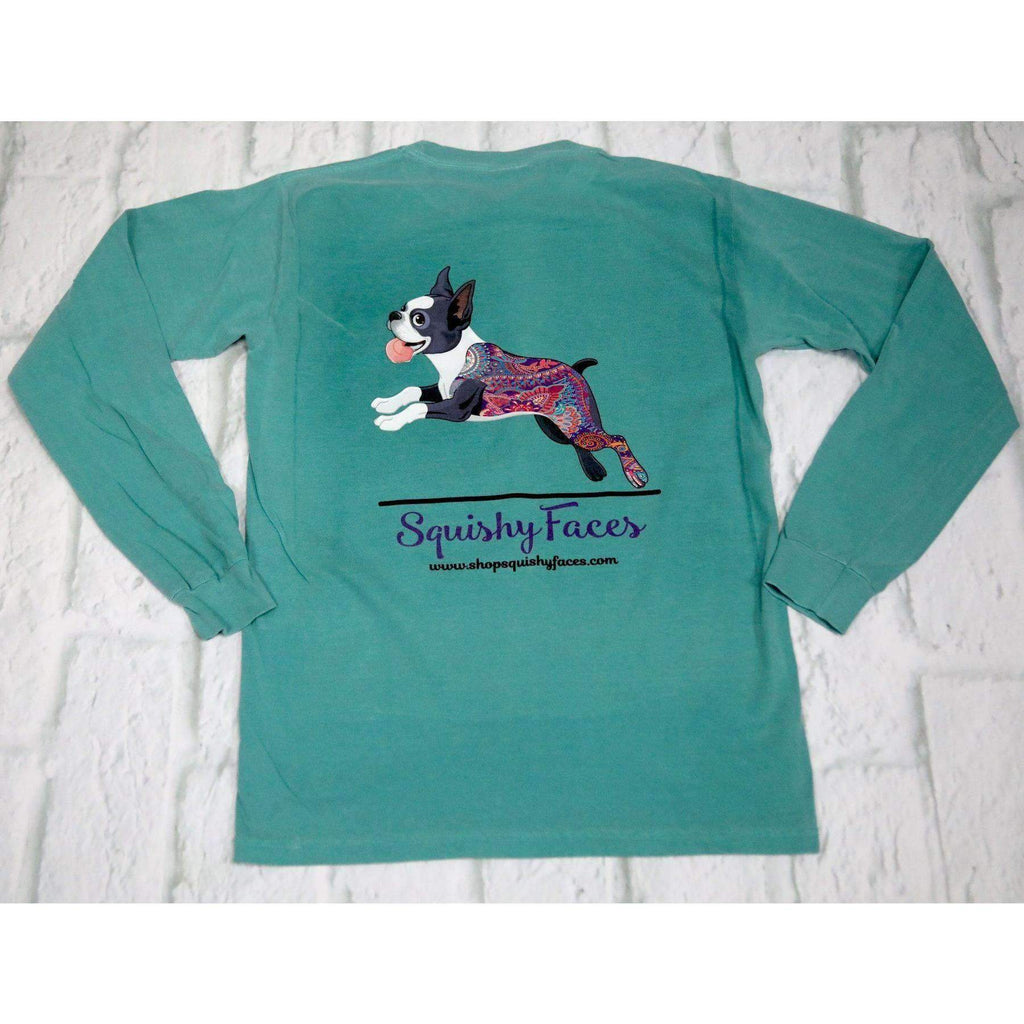 So Happy Boston Terrier Long Sleeve Shirt