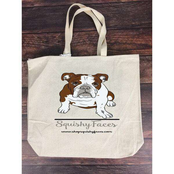 All Breed Tote Bag Fabric Canvas Bag Squishy Faces