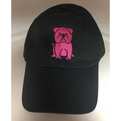 Black & Pink English Bulldog Lover Hat, english bulldog lover, english bulldog lover hat, english bulldog lover hat, english bulldog lover hat, english bulldog on a hat, english bulldog on a hat, gift for english bulldog lover, gift for english bulldog owner, hat for english bulldog owner, hat for english bulldog owner