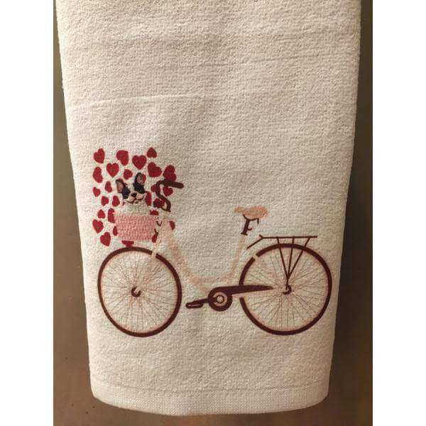 Squishy Faces Custom Hand Towels Valentines Day