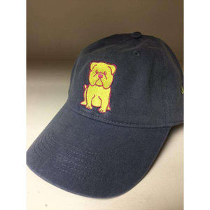 Denim Blue English Bulldog Hat