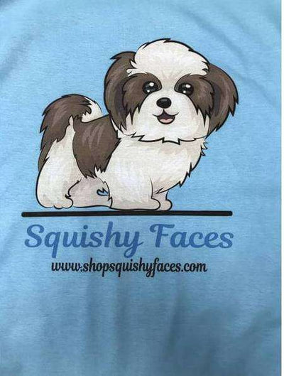 shih tzu custom t shirt