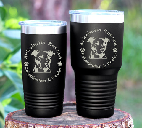 Support Arkbutla Rescue Tumbler 30 or 20oz