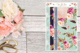 Winter Blooms - Bottom Washi Vertical
