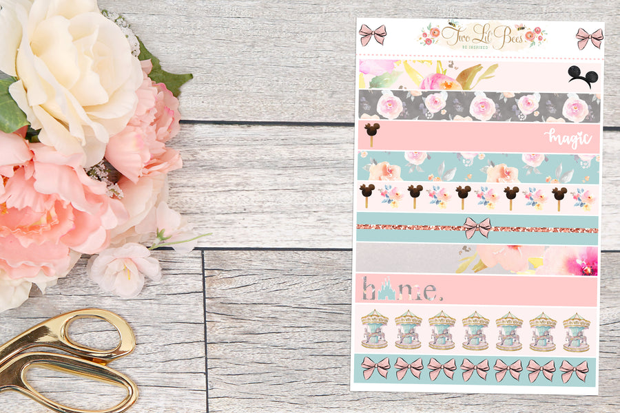 Carrousel - Washi Strips