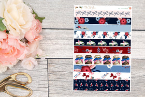 Patriotic - Washi Strips
