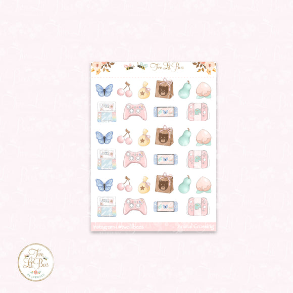 Gamer Planner Girl - Small Deco Sheet