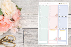 Birthday Girl : Heart Checklist Boxes