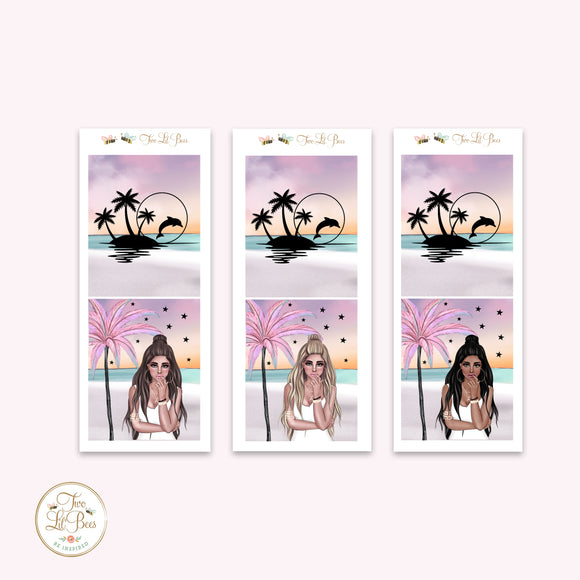 Boho Beach - Girls Add on ** Foiled