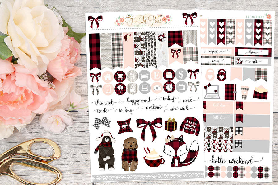 Buffalo Plaid - Full Kit Horizontal/B6