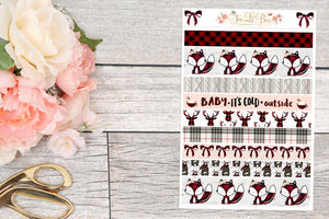 Buffalo Plaid - Washi Strips