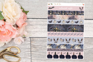 Enchanted Night - Washi Strips B6