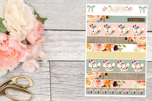 Fall Blessings - Washi Strips