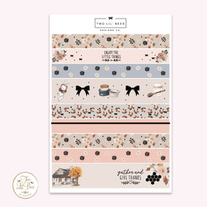 Gather - Washi Strips B6