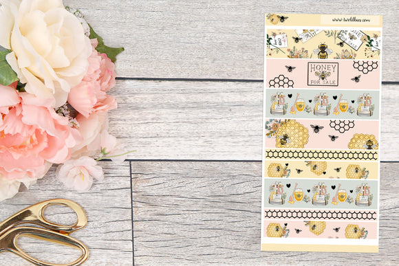 Foiled ~ H Weeks: Washi Strips (Honey Bee)