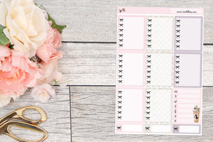 Simply Chic : Bow Checklist Boxes