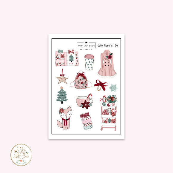 Jolly Planner Girl - Deco