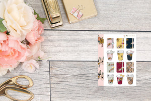 Planners & Coffee Cups - Micro HP : Mini Sheets
