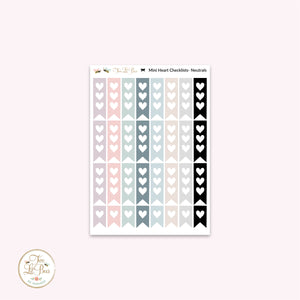 Functional - mini heart checklists