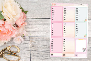 Planner Girl Srobet: Checklist Boxes