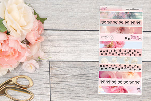 Foiled ~ H Weeks: Washi Strips (Sakura Sunset)