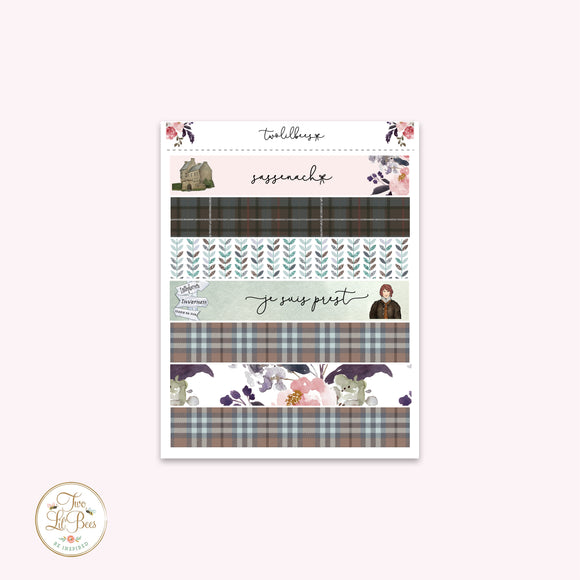 Sassenach - Washi Strips