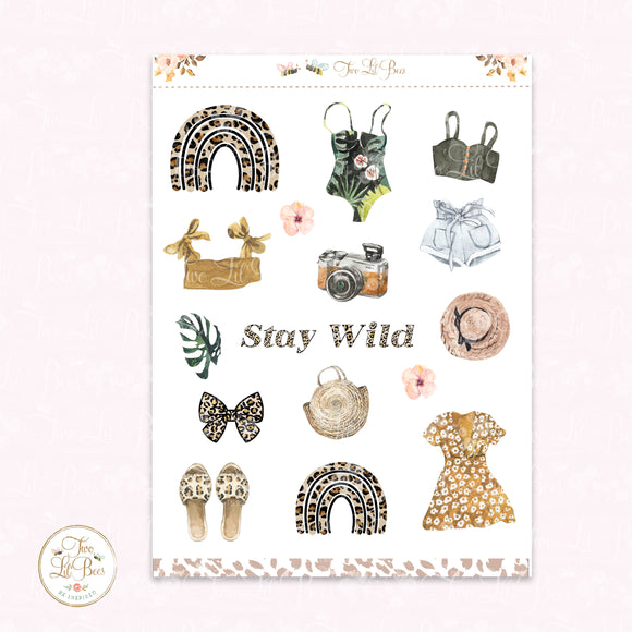 Stay Wild - Decorative