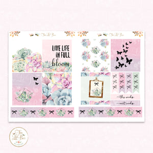 Succulents - Lil' Bee Kit ** Foiled Squares (new)