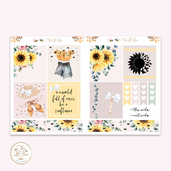 Sunflower Chic - Lil' Bee Kit