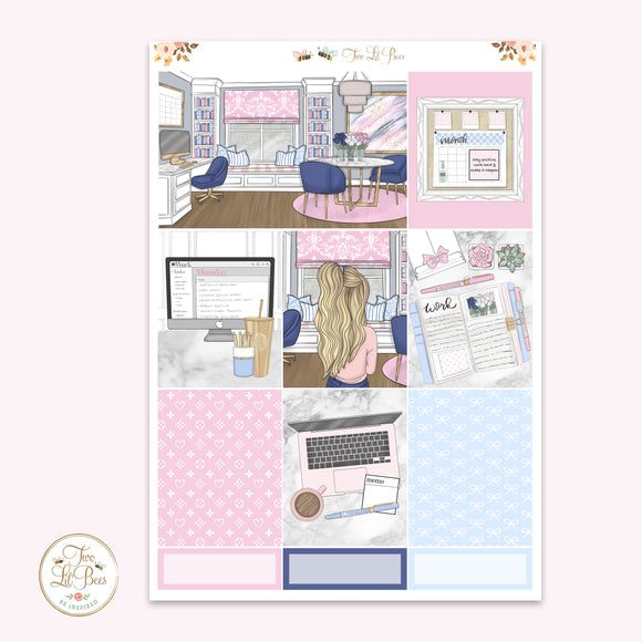 WFH - Pink & Blue (Mini Kit)