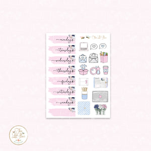 Work from Home (Pink and Blue) - Lil Bee Kit (Add on)