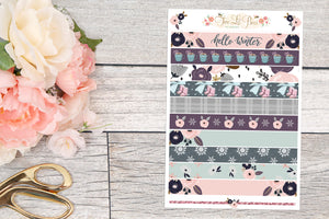 Winter Days - Washi Strips