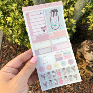 Foiled ~ H Weeks: Kit (Planner Girl Sorbet)
