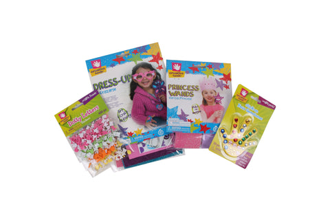 Creative Hands - Princess Bundle - Arts And Crafts For Kids - 4 Items