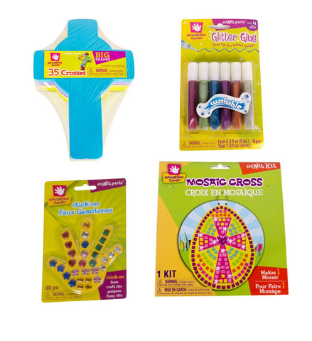 Creative Hands - Religious Bundle - Religious Craft Kits - Arts And Crafts For Kids - 4 Items
