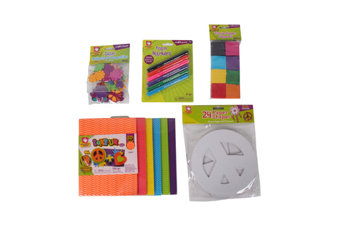 Creative Hands - Peace Bundle - Peace Sign Craft Kit - Arts And Crafts For Kids - 5 Items