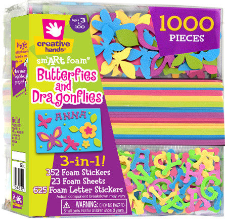 3 in 1 kit-butterflies and dragonfiles
