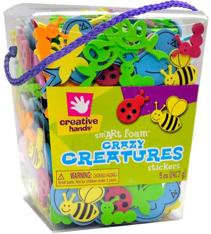 Crazy Creatures Stickers