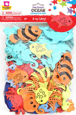 Ocean Sticker Bag