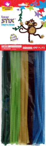 Jungle Chenille Pack Pipe Cleaners