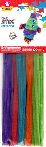 Space Chenille Pack Pipe Cleaners