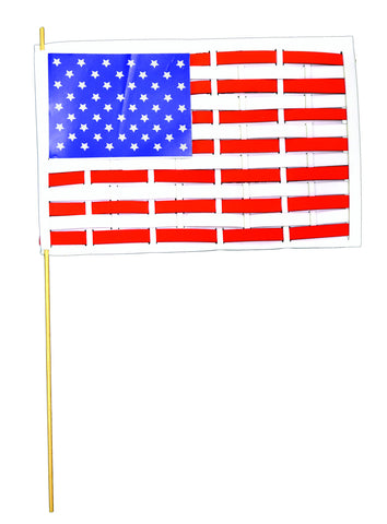 Americana Foam Flag Weaving Kit