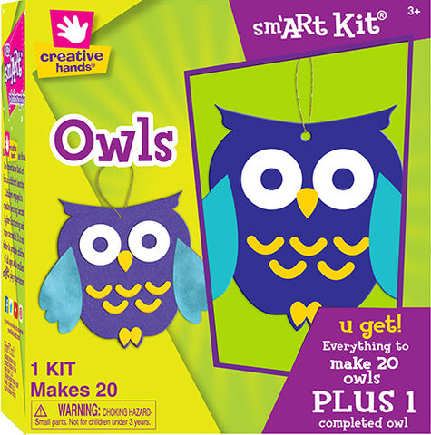 Owls Kit Makes 20
